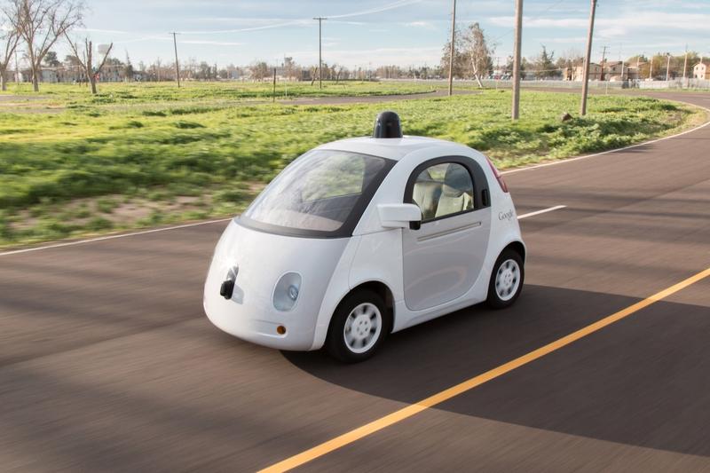 Google'ın sürücüsüz otomobili