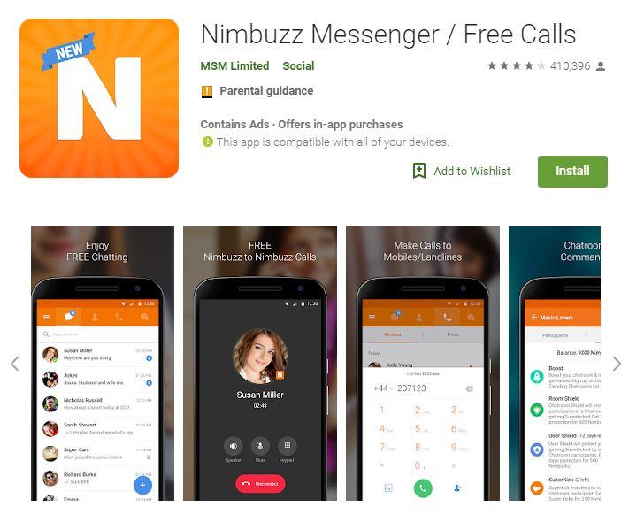 Nimbuzz Messenger