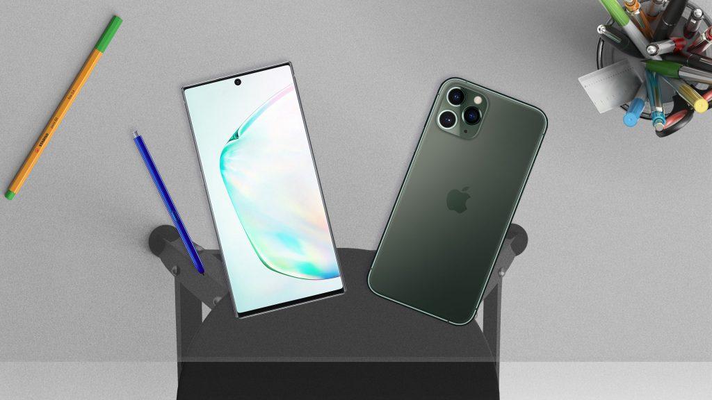 iPhone 11 Pro Max vs Galaxy Note 10! Hız testi