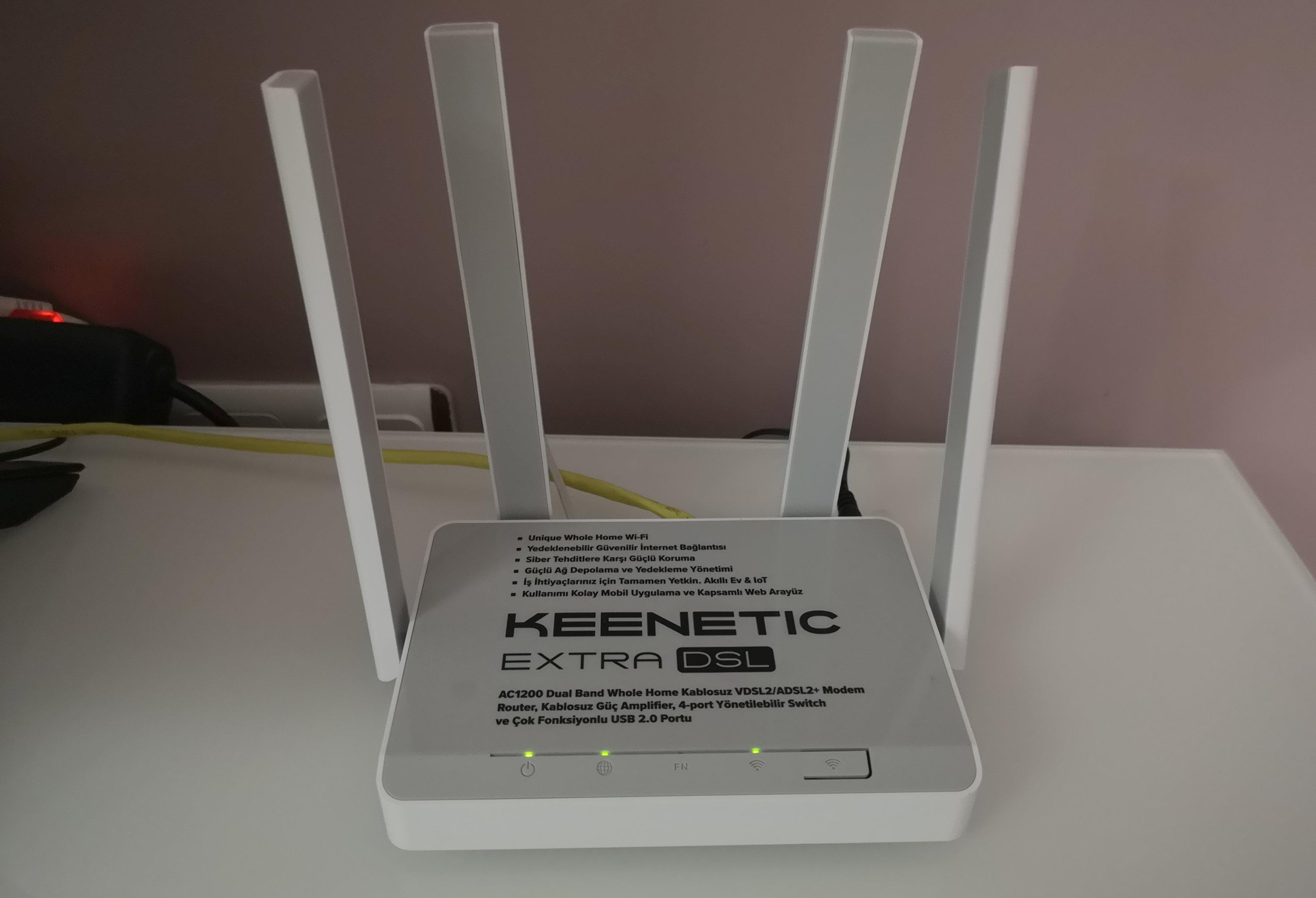 Keenetic Extra DSL geniş kapsama alanıyla dikkat çekiyor - MediaTrend