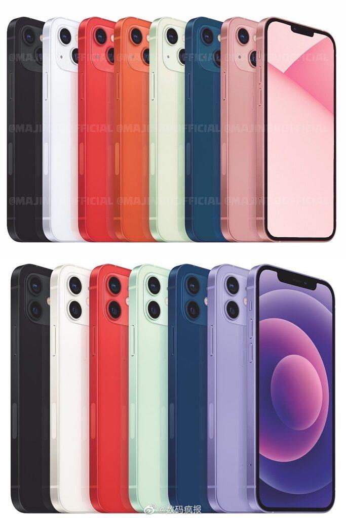 iPhone 13 serisi farkli kamera modulune sahip olacak.